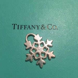 Tiffany & Co snowflake charm ❄️